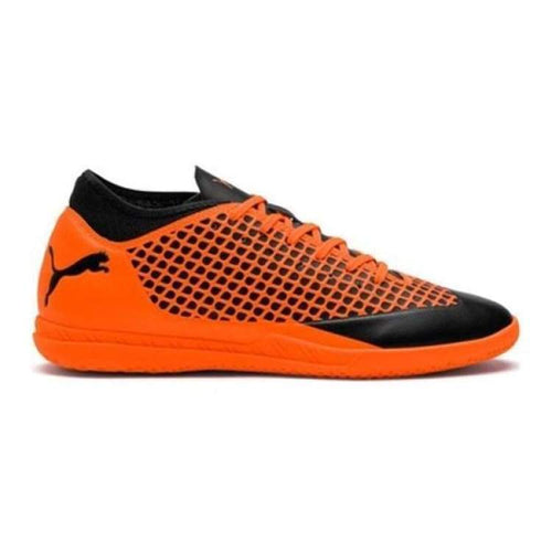 Shoes / Soccer: Puma Future 2.4 It 104842-02 - Puma / Uk: 7.0 / Orange/black / Football Footwear Land Mens Orange/black |