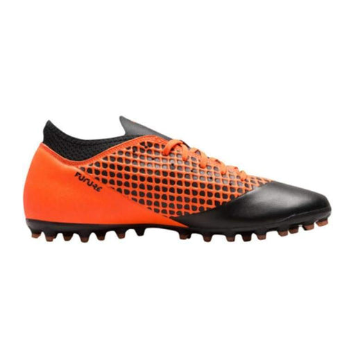 Cleats / Soccer: Puma Future 2.4 Mg 104840 - Puma / Uk: 7.0 / Orange/black / Cleats / Soccer Football Footwear Land Mens |