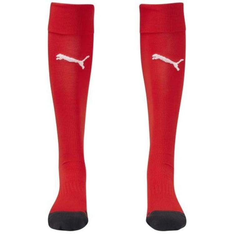 Socks / Soccer: Puma Herren Stutzen Football Socks Rd 701916-01 - Puma / 2 / Red / Accessories Football Land Mens Puma |