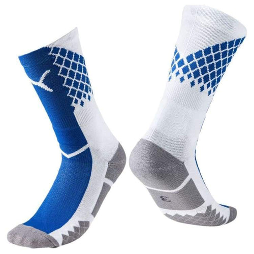 Socks / Soccer: Puma It Evotrg Socks Bu/wht 655183-54 - Puma / 3 / Blue / Accessories Blue Football Land Mens | Ochk-Sfalo-655183-54-1