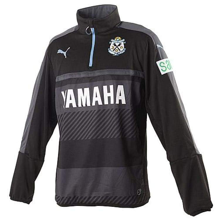 Jackets / Track: Puma Júbilo Iwata 16/17 Track Top 920529-01 - Puma / S / Black / 1617 Black Clothing Football J-League |