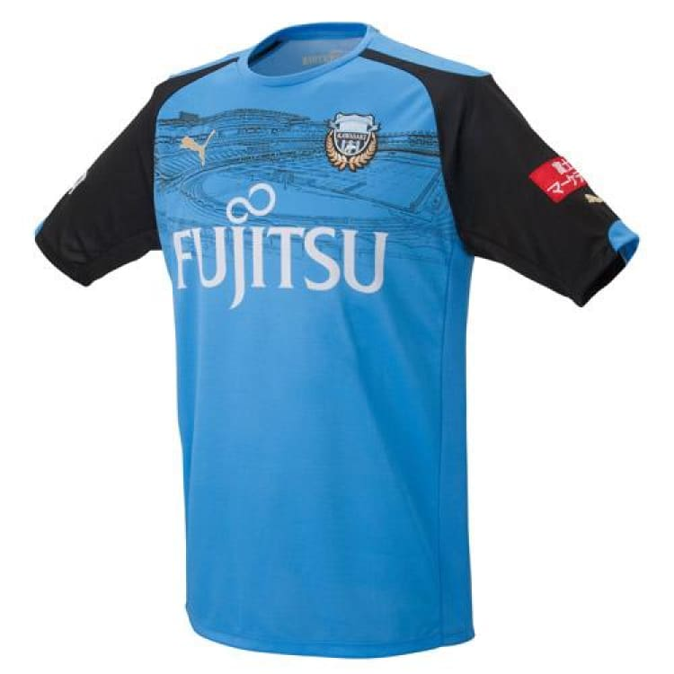 Jerseys / Soccer: Puma Kawasaki Frontale 15/16 (H) Memorial S/s Jersey 920454-01 - Puma / S / Blue / 1516 Blue Clothing Football Home Kit |