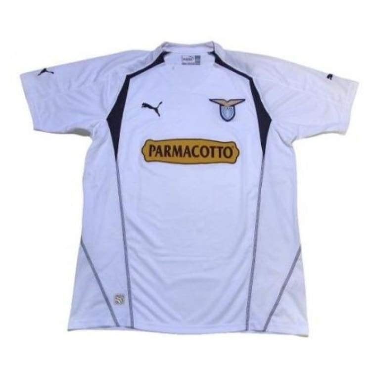 Jerseys / Soccer: Puma Lazio 2004 (A) S/s Jersey Ssita06040A - Puma / L / White / 2004 Away Kit Clothing Football Jerseys |