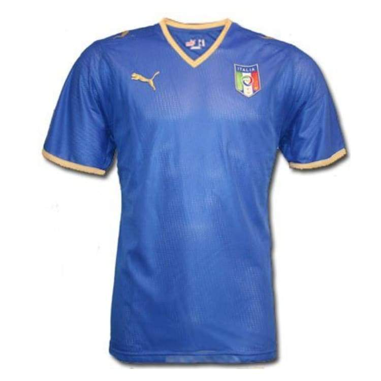 Jerseys / Soccer: Puma National Team 2008 Italy (H) S/s Jersey - L / Puma / 2008 Clothing Football Home Kit Italy | Ochk-Sfalo-Ssita00080H-