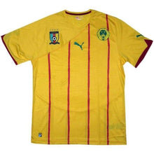 Jerseys / Soccer: Puma National Team 2010 Cameroon (Away) Jersey 736015-04 - M / Puma / 2010 Away Kit Cameroon Clothing Football |