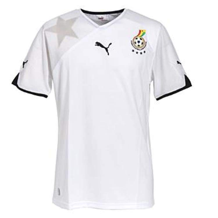 Jerseys / Soccer: Puma National Team 2010 Ghana (H) 736014-10 - S / Puma / 2010 Clothing Football Ghana Home Kit | Ochk-Sfalo-736014-10-1