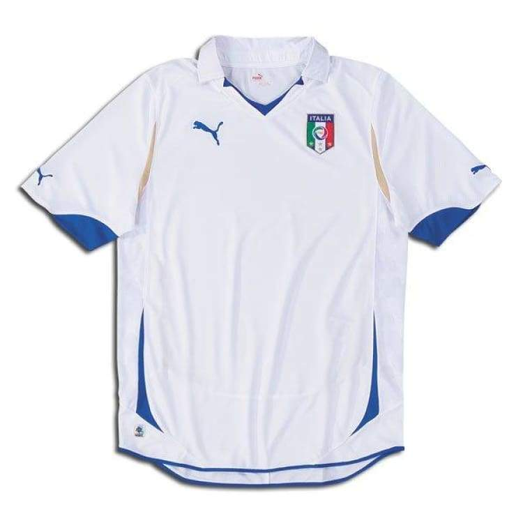 Jerseys / Soccer: Puma National Team 2010 Italy (A) S/s Jersey - Puma / M / White / 2010 Away Kit Clothing Football Italy |