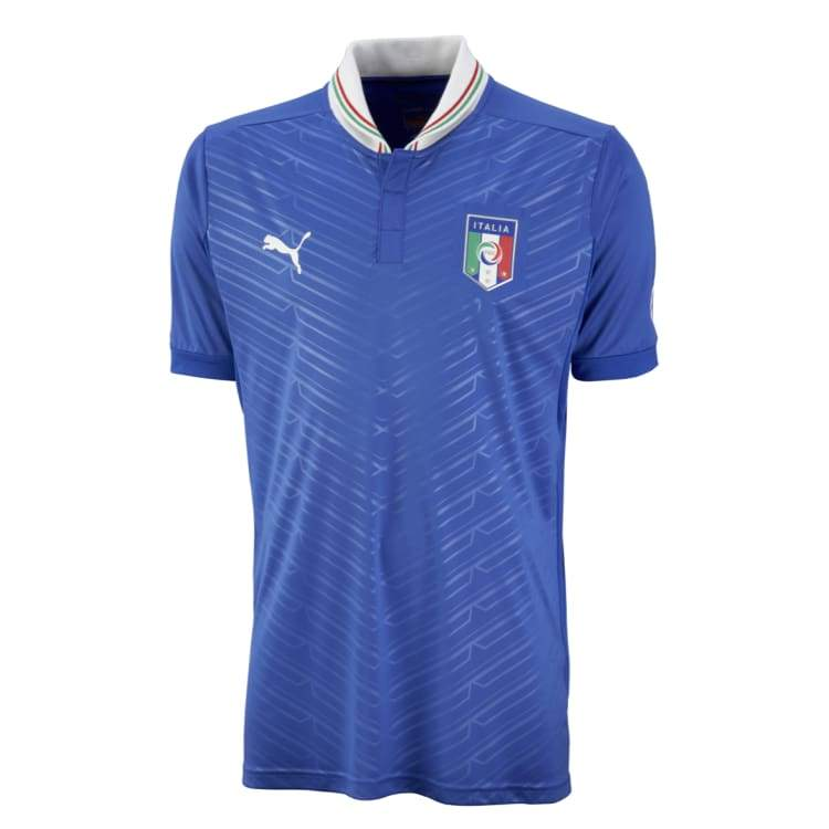 Jerseys / Soccer: Puma National Team 2011 Italy (H) S/s Jersey - Puma / Xs / Blue / 2011 Blue Clothing Football Home Kit |