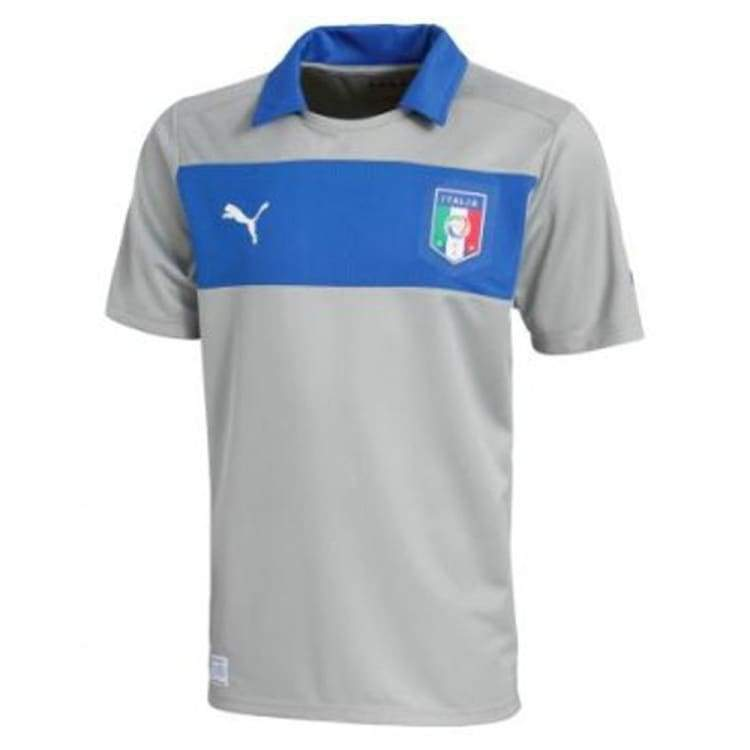 : Puma National Team 2012 Italy (H) Gk S/s Gy 740359-06 - Puma / S / Grey / 2012 Clothing Football Goalkeeper Goalkeeper Jerseys |