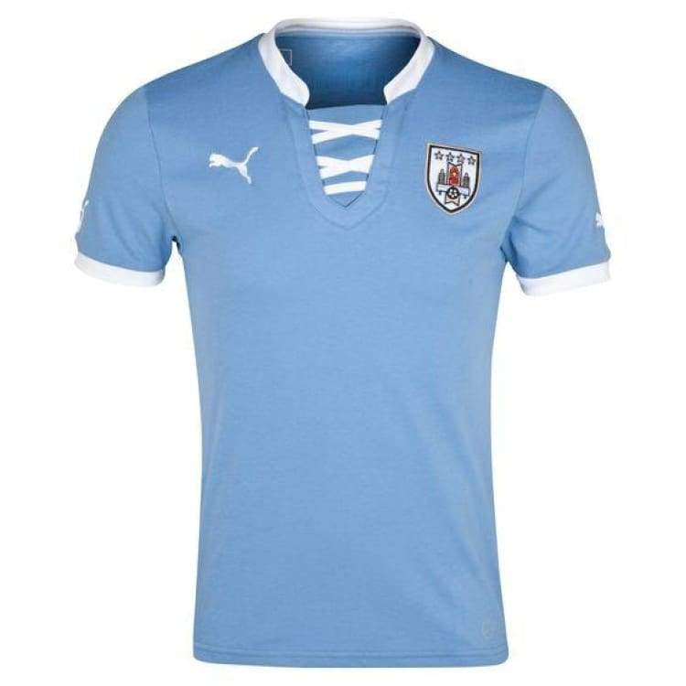 Jerseys / Soccer: Puma National Team 2013 Uruguay (H) S/s Jersey - Puma / Xs / Blue / 2013 Blue Clothing Football Home Kit |