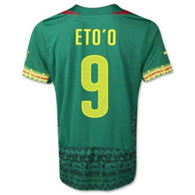 Jerseys / Soccer: Puma National Team 2014 World Cup Cameroon (Home) Jersey 744553-01 - 2014 Cameroon Clothing Football Home Kit