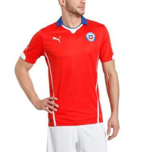 Jerseys / Soccer: Puma National Team 2014 World Cup Chile (Home) S/s Jersey 744501-05 - 2014 Chile Clothing Football Home Kit