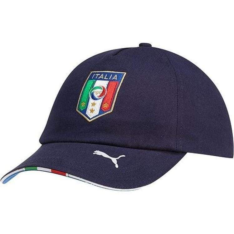 Headwear / Caps: Puma National Team 2014 World Cup Italia (H) Cap 744266-03 - Navy / Puma / 2014 Accessories Cap Football Head & Neck Wear |