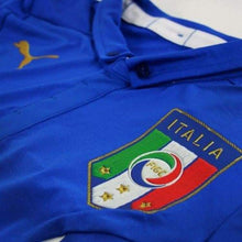 Jerseys / Soccer: Puma National Team 2014 World Cup Italy (Home) Authentic S/s Jersey744287-01 - 2014 Blue Clothing Football Home Kit
