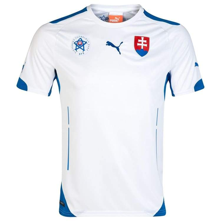 Jerseys / Soccer: Puma National Team 2014 World Cup Slovakia (H) 744473-01 - Xs / Puma / 2014 Clothing Football Jerseys Jerseys / Soccer |