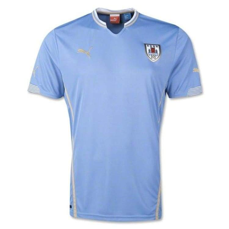 Jerseys / Soccer: Puma National Team 2014 World Cup Uruguay (H) S/s 744322-01 - Puma / S / Blue / 2014 Blue Clothing Football Home Kit |