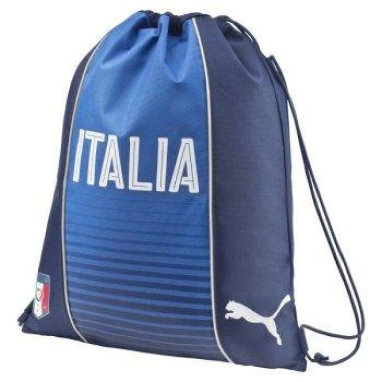 Bags / Sack Pack: Puma National Team 2016 Italia Fanwear Gym Sack Bu 073987-01 - Puma / Blue / 2016 Accessories Bags / Sack Pack Blue Fans