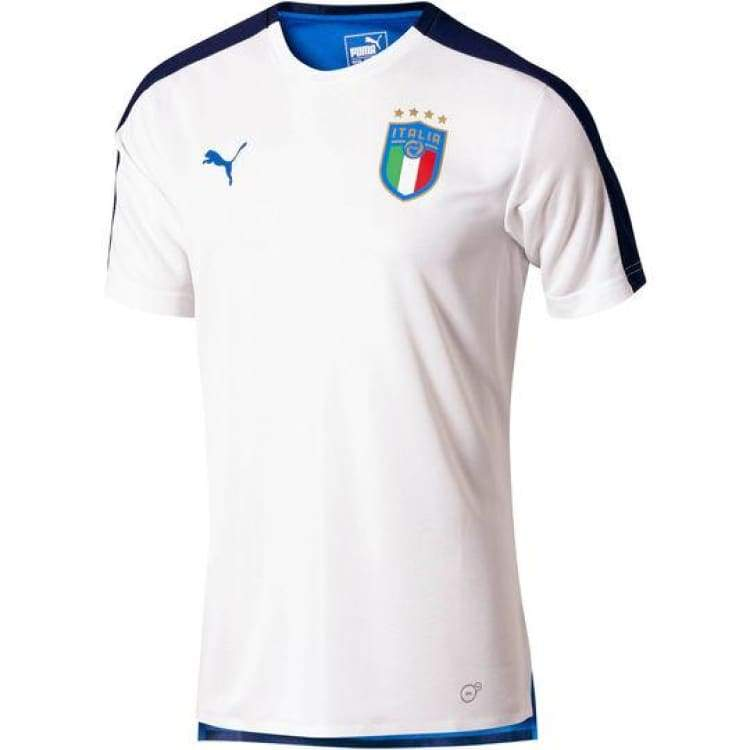 Jerseys / Soccer: Puma National Team 2018 Italia Stadium Jersey 752315-02 - Puma / Xs / White / 2018 Clothing Football Italy Italy (World