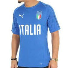 Jerseys / Soccer: Puma National Team 2018 Italia Training Jersey 752316-01 - 2018 Clothing Football Italy Italy (World Cup)