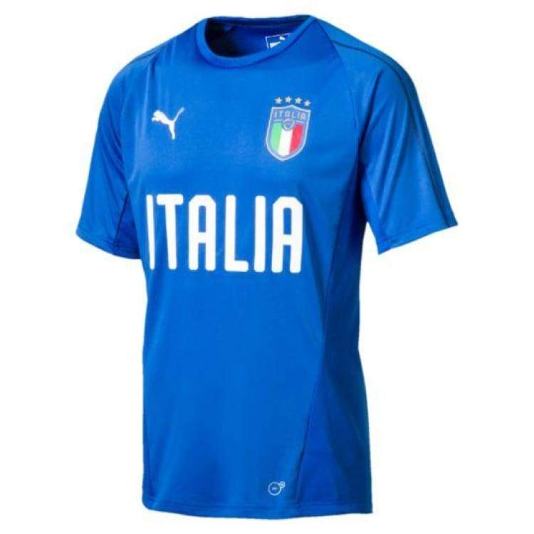 Jerseys / Soccer: Puma National Team 2018 Italia Training Jersey 752316-01 - Xs / Puma / 2018 Clothing Football Italy Italy (World Cup) |