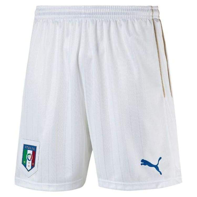 Shorts / Soccer: Puma National Team Euro 2016 Italy (Home) Shorts Wht 748835-02 - Puma / S / White / 2016 Clothing Football Home Kit Italy |