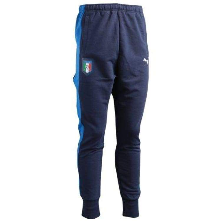Pants / Training: Puma National Team Euro 2016 Tribute 2006-2016 Pants 750490-06 - Puma / Xs / Blue / 2016 Blue Clothing Football Italy |
