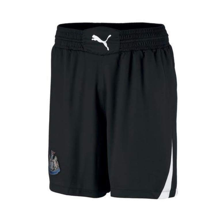 Shorts / Soccer: Puma Newcastle United 10/11 (H) Shorts - Puma / S / Black / 1011 Black Clothing Football Home Kit |