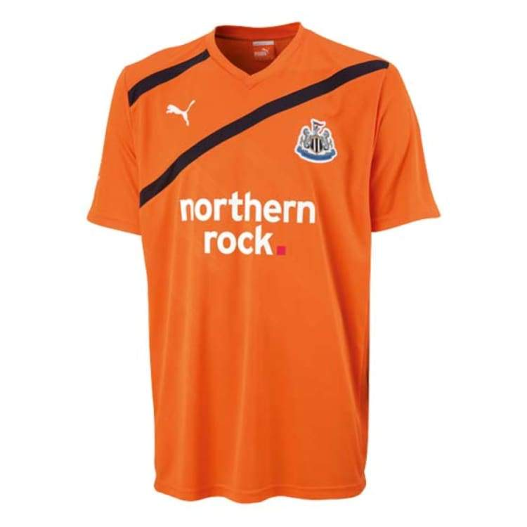 Jerseys / Soccer: Puma Newcastle United 11/12 (A) S/s - Puma / S / Orange / 1112 Away Kit Clothing Football Jerseys |