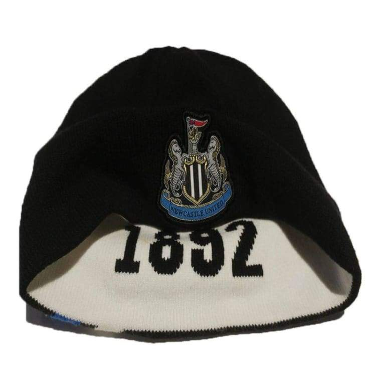 Headwear / Beanies: Puma Newcastle United 11/12 Beanie 739615-08 - Puma / Black / 1112 Accessories Black Fans Wear Football |
