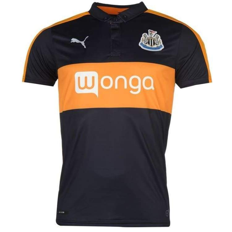 Jerseys / Soccer: Puma Newcastle United 16/17 (A) S/s 750014-03 - Puma / Xs / Navy / 1617 Away Kit Clothing Football Jerseys |