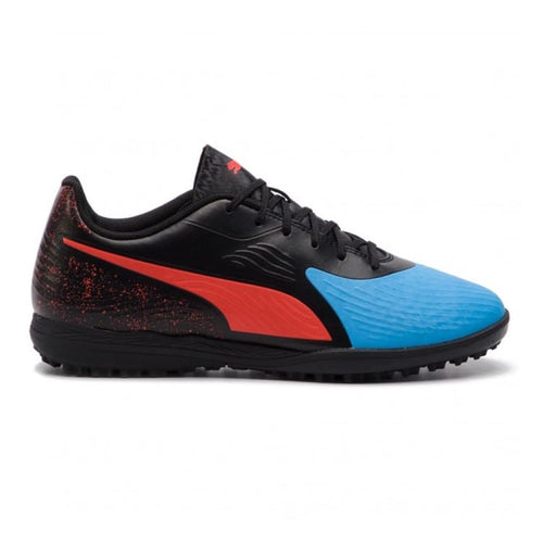 Shoes / Soccer: PUMA ONE 19.4 TT Football Boot 105495-01 - UK: 6.0 / Blue / Puma / Blue Footwear Land Mens Puma | OCHK-SFALO-105495-01-1