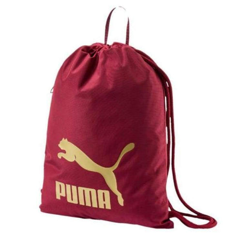 Bags / Sack Pack: Puma Original Gym Sack 074812-12 - Puma / Red / Accessories Bags / Sack Pack Basketball Fans Wear Fitness & Exercise |