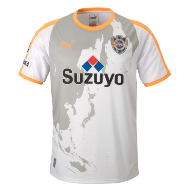 Jerseys / Soccer: Puma Shimizu S-Pulse 2018 (A) S/s 920909-01 - Puma / M / White / 2018 Away Kit Clothing Football Jerseys |