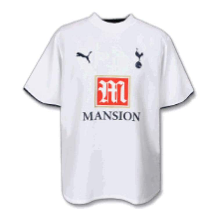 Jerseys / Soccer: Puma Tottenham Hotspur 06/07 (H) S/s - Puma / S / White / 0607 Clothing Football Home Kit Jerseys |