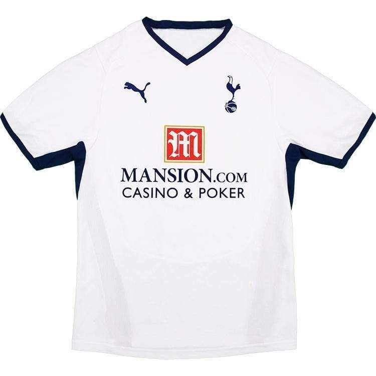 Jerseys / Soccer: Puma Tottenham Hotspur 08/09 (H) S/s - Puma / L / White / 0809 Clothing Football Home Kit Jersey |