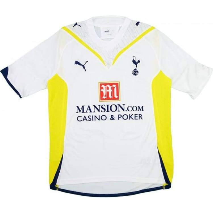 Jerseys / Soccer: Puma Tottenham Hotspur 09/10 (H) S/s - Puma / L / White / 0910 Clothing Football Home Kit Jerseys |