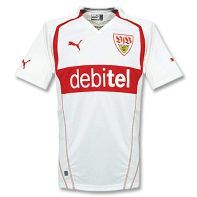 Jerseys / Soccer: Puma Vfb Stuggart 04/05 (H) S/s - Puma / 2Xl / White / 0405 Clothing Football Home Kit Jerseys | Ochk-Sfalo-Ssger11040H-3