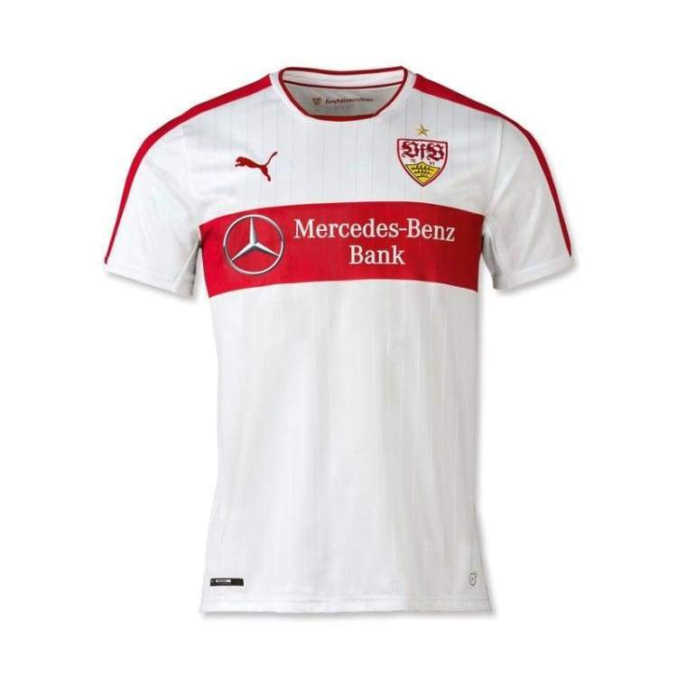 Jerseys / Soccer: Puma Vfb Stuggart 16/17 (H) S/s 750254-01 - Puma / S / White / 1617 Clothing Football Home Kit Jerseys |