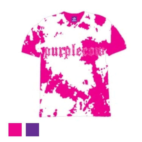 Tees / Short Sleeve: Purplecow Tie-Dye S/s Tall Tee - 2Color - Clothing Ice & Snow Mens On Sale Pink