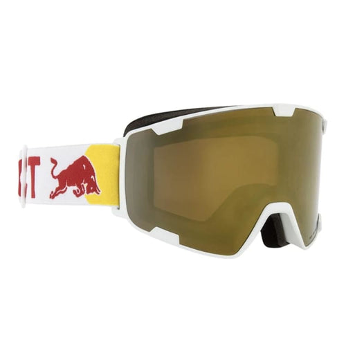 Goggles / Snow: RED BULL SPECT G - PARK-005 - RED BULL SPECT / Free / WHT/GOL / 1920 Eyewear Goggles Goggles / Snow Ice & Snow |