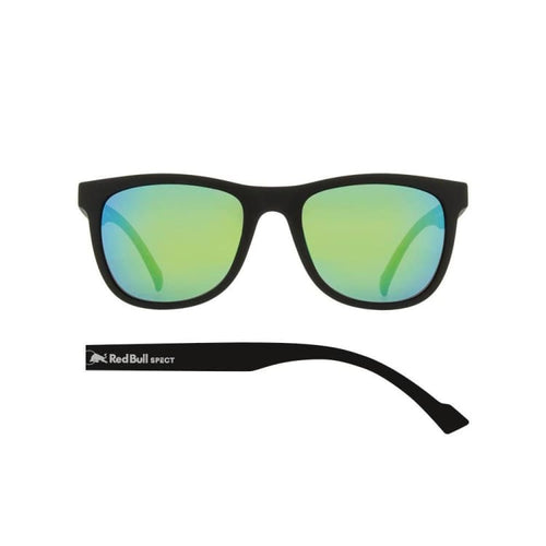 Sunglasses: RED BULL SPECT S - LAKE-004P - RED BULL SPECT / Free / BLK/GRN / 1920 Air BLK/GRN Eyewear Ice & Snow | OCHK-REDBULL-LAKE-004P