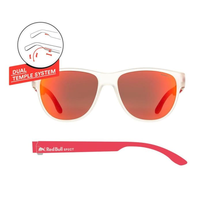 Sunglasses: RED BULL SPECT S - WING3-004PN - RED BULL SPECT / Free / TRAN/RED / 1920 Air Eyewear Ice & Snow Land | OCHK-REDBULL-WING3-004PN