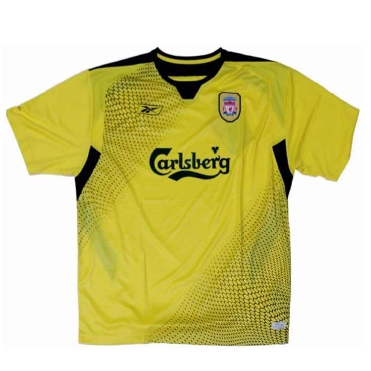 Jerseys / Soccer: Reebok Liverpool 04/05 (A) S/s - Reebok / L / Yellow / 0405 Away Kit Clothing Jerseys Jerseys / Soccer |
