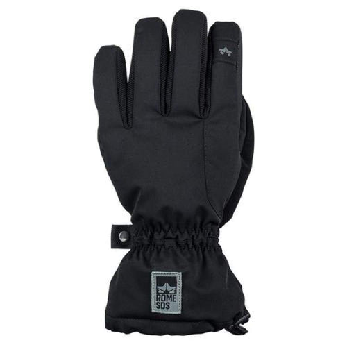 Gloves & Mittens / Snow: Rome Drifter Over Glove Black 1819 [Mens] - Rome / L / Black / 1819 Accessories Black Gloves & Mittens Gloves &