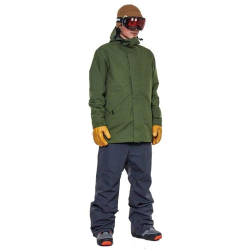 Jackets / Snow: Rome Jaypeak Jacket Green 1819 [Unisex] - Rome / L / Green / 1819 Clothing Green Ice & Snow Jackets | Occn-Whiteline-Jaypeak