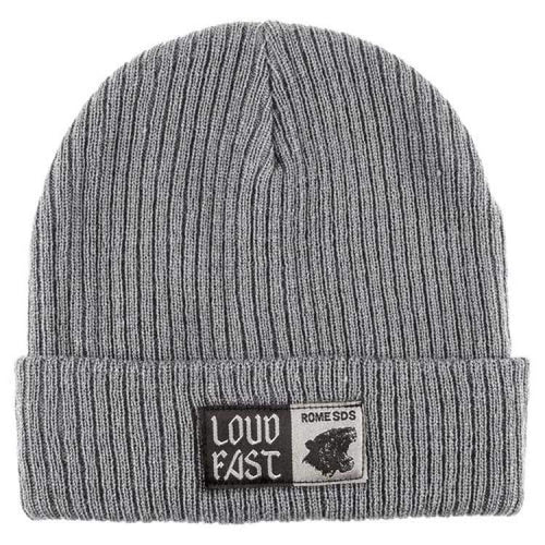 Headwear / Beanies: Rome Loud Fast Beanie Gray 1819 [Unisex] - Rome / Free / Gray / 1819 Accessories Gray Head & Neck Wear Headwear /