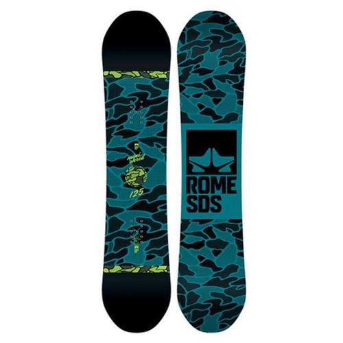 Snowboards: Rome Minishred Snowboard Fw1819 - Rome / 125 / 125 1819 Gear Ice & Snow Kids | Occn-Whiteline-1819Minishred125