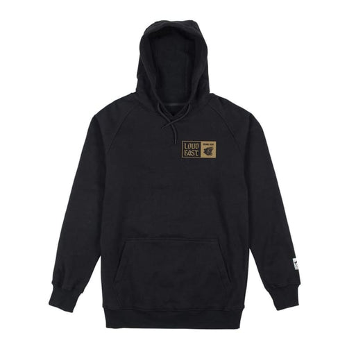 Hoodies & Sweaters: Rome Panther Pullover Hoodie Black [1819] - Rome / L / Black / 1819 Black Clothing Hoodies & Sweaters Ice & Snow |
