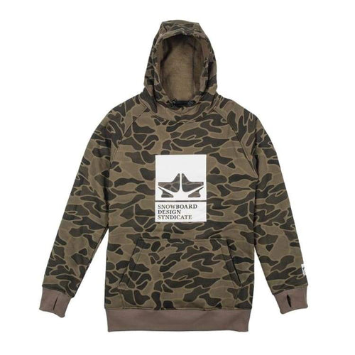 Hoodies & Sweaters: Rome Riding Pullover Hoodie Camo [1819] - Rome / L / Camo / 1819 Camo Clothing Hoodies & Sweaters Ice & Snow |