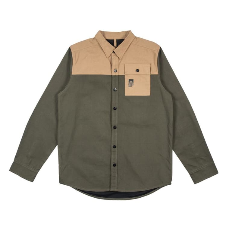 Shirts Ls / Casual: Rome Riding Shirt Forest 1819 [Mens] - Rome / L / Forest / 1819 Clothing Forest Ice & Snow L | Occn-Whiteline-1819Riding